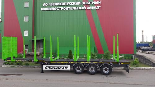 Полуприцепы лесовозы STEELBEAR с 'горбатой' рамой – эффективное решение перевозки леса!